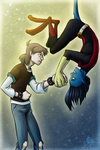 Nightcrawler and Todd by Kurozora-Konoi