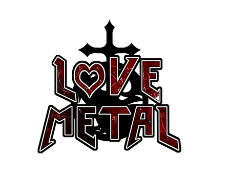 New Love Metal logo by HeartandVoice
