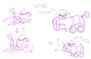 Loose Cannon  part1 by arcanineryu