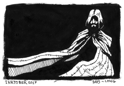 Inktober 2017 - 5 Long by Orboroth