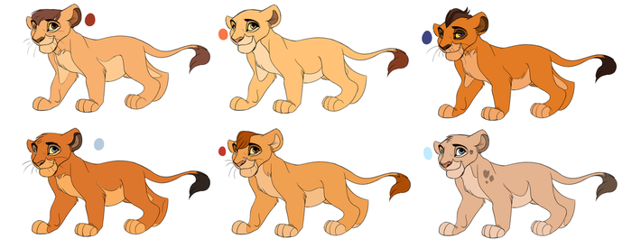 Lion King Adopts by Pumpkabo0