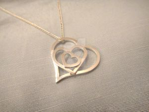 Mother's Day Bespoke Heart Pendant