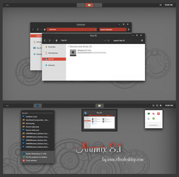 Numix Theme Windows 8.1(Updated) by Cleodesktop