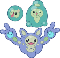 shiny Solosis and evolutions