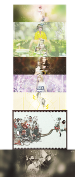 {PSD PACK] The 1st project: Happy 6th anniversary by jangddh1932001