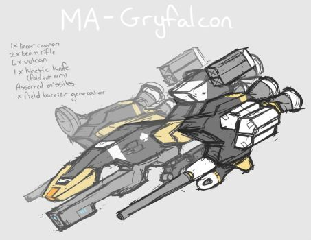 Gryfalcon Mobile Armor by pizzacat