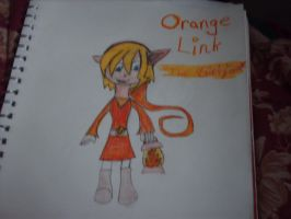 Orange Link by Kursed1fox