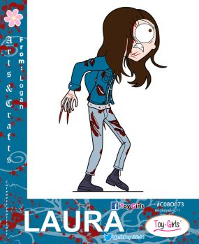 Toy Girls - Arts n Crafts Series 73: Laura by mickeyelric11