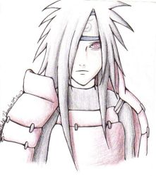 Madara Uchiha-Colored by th3ama