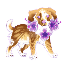 flower Spaniel [open] by ThePopsicleThief