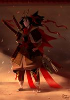 Samurai Girl by Sommum