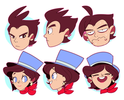 Apollo Justice by Zamiiz