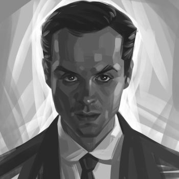 Jim Moriarty by Olga-Tereshenko