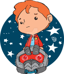 STICKERS: Lil' Starlord by bernce