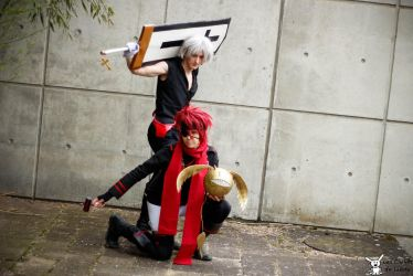 Lavi and Allen by MorganaBlackwings