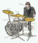 Ringo Starr's drums have names by gagambo