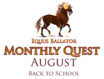 Monthy Quest - August 2018 by EquusBallatorSociety