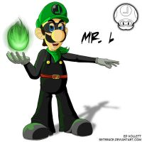 The Sinister Mr. L by Seterace
