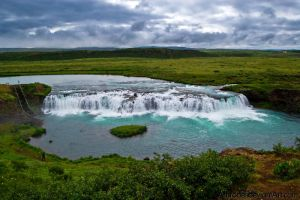Iceland Waterfalls by amrodel