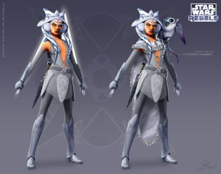 Ahsoka The Grey of Mortis by Brian-Snook