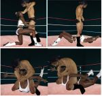 Mixed wrestling match 90 by cattle6
