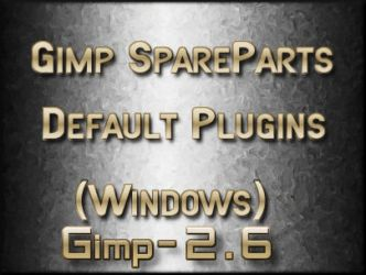 Gimp2.6 Default plugins win by photocomix-resources