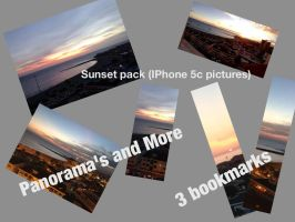 Sunset pack (iPhone 5c pictures) by jomy10
