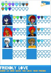 Chase's heart chart by Sofiathefirst