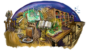 Library of Living Dreams by Shadowind