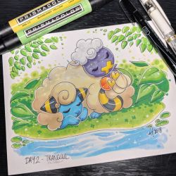 Inktober day 2 - Tranquil by StarSheepSweaters