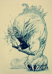 The hungry beastapede by RyanOttley