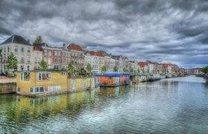 Livin' on boats... by clochartist-photo
