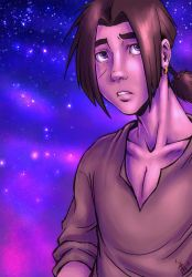 Jim Hawkins drawing thingy by nocturnalMoTH