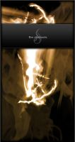 Brush: Fire Abstracts by exhale-stock