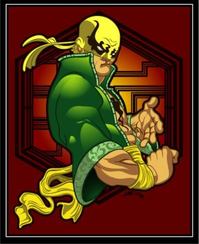 Ironfist by lordmesa