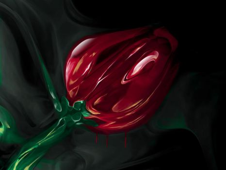 Glass Rose by drlew