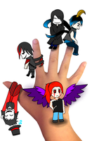 Chibis~ Chibis everywhere Part 2  by RedPhoenixAsh