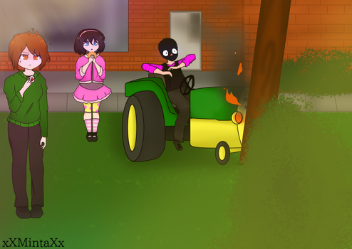 Kinda Old Drawing I Drew A While Ago  by xXMintaXx