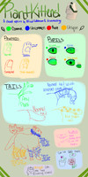 PlantKittens Species Guide! by Official-Fallblossom