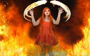 Fem Calcifer by IceDragonCosplay