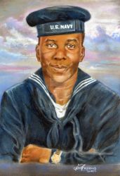 Navy Portrait by Catluckey