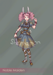 Animated SteamPunk Maiden (Closed) by Sherharon