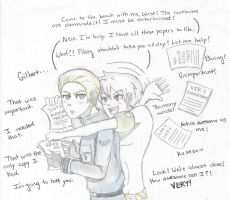 Hetalia: Prussia the Helpful by ExclusivelyHetalia