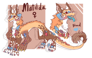 Matilda - [2016 Contest Entry Canora] by TIWWYNEO