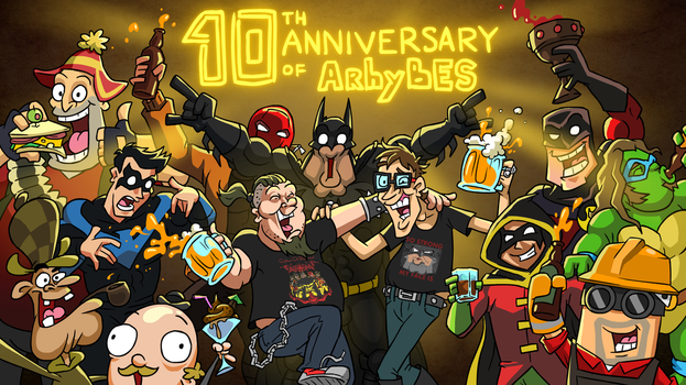 10-th anniversary of ArhyBES channel! by JackBlin