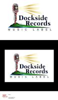 Dockside Records-logo presentation 1 by R1Design