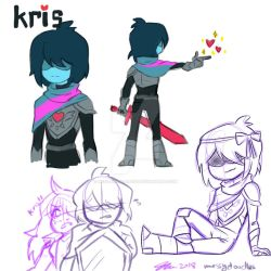 Deltarune Kris by MESS-Anime-Artist