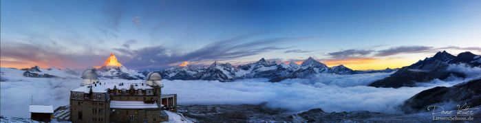 The view of the Swiss Alps by LinsenSchuss