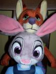 Ears Are Fun: Nick and Judy by SJF-Penguin