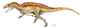 Acrocanthosaurus atokensis by unlobogris